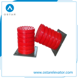 Plastikbuffer, Gummivertiefung-Buffer, Höhenruder zerteilt (OS210-A)