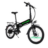 Batterie au lithium caché 250W / 500W Motor Folding Electric Bike