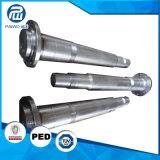 中国の製造業者の機械化の鍛造材鋼鉄風力の本管シャフト
