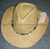 Chapéus de palha artesanais de moda 2016 / chapéu de sol (DH-LH91213)
