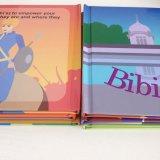 Impression réglée de livre de livre À couverture dure de Boxset de livre de série de volumes