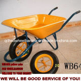 Carrinho de mão de roda da construção da alta qualidade (WB6400)