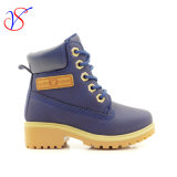 2016 de nieuwe Schoenen van de Laarzen van het Werk van de Veiligheid van de Injectie van de Kinderen van de Jonge geitjes van de Baby van de Stijl Werkende voor OpenluchtBaan (MARINE svwk-1609-036)