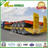 Acoplado pesado del utilitario de la máquina de cargamento de 3 árboles del transporte inferior de la cubierta