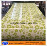 Materiales PPGI impreso modelo de la decoración