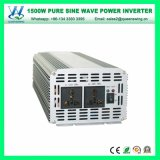 DC48V AC110/120Vの純粋な正弦波1500Wインバーター(QW-P1500)