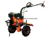 cultivador rotatorio de la sierpe diesel de la potencia 7HP