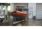Aqualand 28feet 9m 돌격 늑골 배 또는 엄밀한 팽창식 군 배 (rib900)