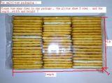 Macchina per l'imballaggio delle merci di Trayless per il biscotto