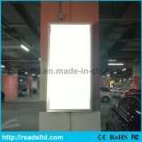 Rectángulo ligero delgado puesto a contraluz LED del precio de fábrica para hacer publicidad