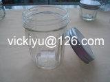 Vaso di vetro di memoria con la protezione del metallo