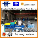 Hydraulische automatische Farben-Stahlrinne-Rolle, die Maschinerie bildet