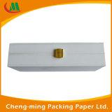Cartón de lujo del rectángulo plegable caja de papel de regalo