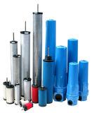 圧縮されたエアー・フィルタの管フィルター装置