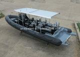 Aqualand 30feet 9m 구조 배 /Patrol 배 또는 늑골 모터 배 (RIB900B)