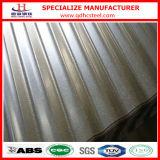 Hoja de acero galvanizada acanalada metal del material para techos del soldado enrollado en el ejército de SGCC JIS G3302