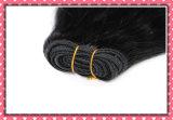 Наградные человеческие волосы Remy перуанские сотка шелковистое прямое 14inches