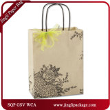 Rose Hydrangea Shoppers Yiwu Hot Stamping Nirthday Party Bags Sacs à cadeaux de luxe