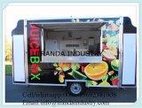 Il nuovo Tacos degli hamburger dei hot dog frigge l'acciaio inossidabile tutto del &More in un carrello dell'alimento