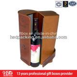 Boîte de empaquetage à nouveau d'Edsign vin en cuir d'unité centrale
