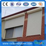 Bogen-Aluminiumglasschwingen-Fenster mit Rollen-Blendenverschluß