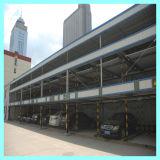 Equipamento mecânico público do estacionamento da garagem