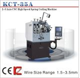 Ressort de compression de vitesse de Kcmco-Kct-35A 3mm enroulant le pot tournant de Machine&Spring