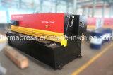 QC12k ökonomischer CNC-hydraulischer Schwingen-Träger-scherende Maschine