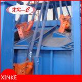 大きい鉄骨構造のショットブラスト機械