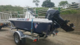 Aqualand 15 pies de los 4.6m de la fibra de vidrio de barco de motor/barco de pesca (150)