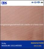 Paño del bronce/de alambre de cobre amarillo/de cobre para el filtro
