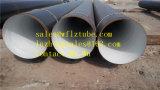Tubo del carbón de DIN30670 Sch40, Std GR. Tubo de acero de B X52, tubo de acero Sch120
