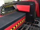 Máquina de estaca chave computarizada da gravura da fibra do aço inoxidável