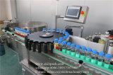 Machine à étiquettes de collant liquide automatique de bouteille rotatoire
