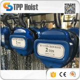 Gru Chain di sollevamento della puleggia manuale degli strumenti della costruzione portatile