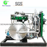 compressor de alta pressão do diafragma do gás do hélio da pressão da tomada 16MPa
