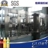 Máquina de rellenar automática llena del aceite de cocina de la botella del animal doméstico de la botella de cristal