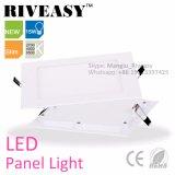 panneau acrylique carré de l'éclairage LED 15W avec le voyant de Ce&RoHS DEL