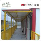 Het goedkope Geprefabriceerd huis Aangepaste Huis van het Huis van de Container voor Filippijns