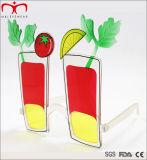 Bunte und reichlich vorhandene Entwurfs-Partei-Sonnenbrillen (PTS60115)