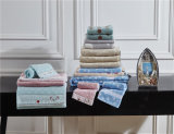 Tovagliolo di bagno tinto filato domestico molle eccellente all'ingrosso del fumetto dei capretti di uso dell'hotel & della tessile