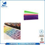 Etiqueta autoadhesiva colorida material del teclado del vinilo del corte del beso