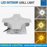 IP65는 4 옆 LED 정연한 벽 램프 옥외 방수 스포트라이트를 방수 처리한다