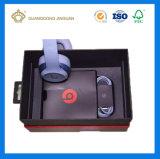 주문을 받아서 만들어진 로고를 가진 헤드폰 OEM/ODM 다채로운 서류상 포장 상자