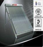 Colector solar partido con Keymark solar
