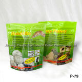 Free-Standing up Pet Food Plastic Bags with Zipper