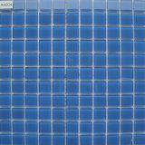 Mattonelle di mosaico blu-chiaro di cristallo per la piscina dei bambini