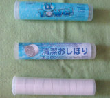 Pièce de monnaie Tissues, Viscose Tissues, Magic Tissues, Disposable Towels, Compressed Towel avec 10PCS Tube Packing comme Yt-707