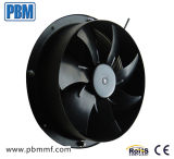 365X90mm 48VDC Axial Fan com Speed Control