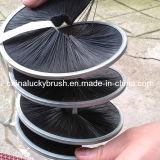 De zwarte Nylon Materiële Borstel van de Strook van de Streng (yy-121)